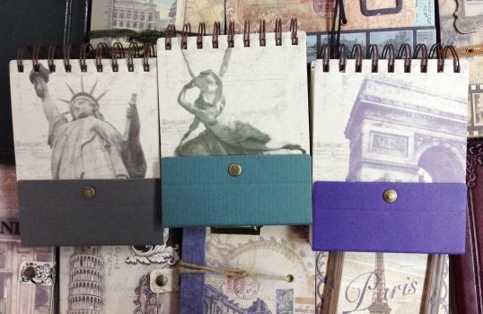 Фото - Винтажный блокнот Stand by me на кнопке (3 вида) купить в киеве на подарок, цена, отзывы
