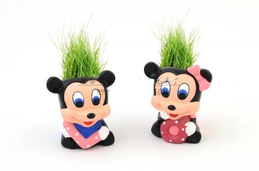 Фото - Травянчик с семенами Микки Маус купить в киеве на подарок, цена, отзывы