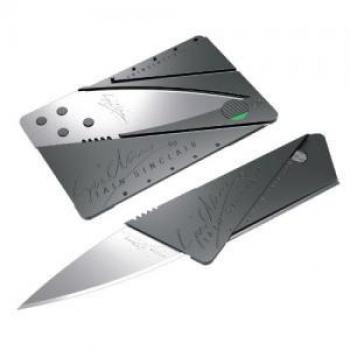 Фото - Нож кредитка (Складной нож в бумажнике)  купить в киеве на подарок, цена, отзывы