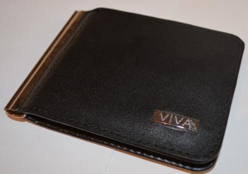 Фото - Зажим для денег с кармашеком для мелочи натуральная кожа №4 купить в киеве на подарок, цена, отзывы