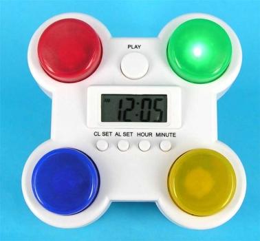 Фото - Будильник Угадай кнопку купить в киеве на подарок, цена, отзывы