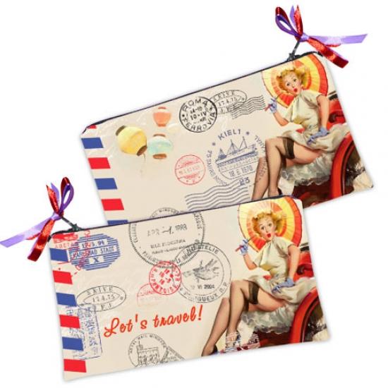 Фото - Косметичка-кошелек Lets travel купить в киеве на подарок, цена, отзывы