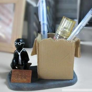 Фото - Коробка для мелочей вашего стола Кризис купить в киеве на подарок, цена, отзывы