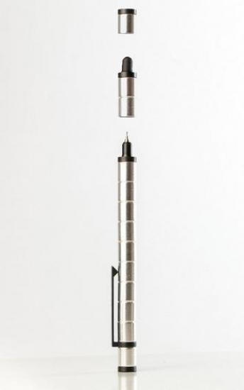 Фото - Магнитная ручка Polar серебро купить в киеве на подарок, цена, отзывы