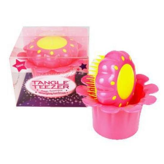 Фото - Расческа Tangle Teezer - Magic Flowerpot Princess Pink купить в киеве на подарок, цена, отзывы