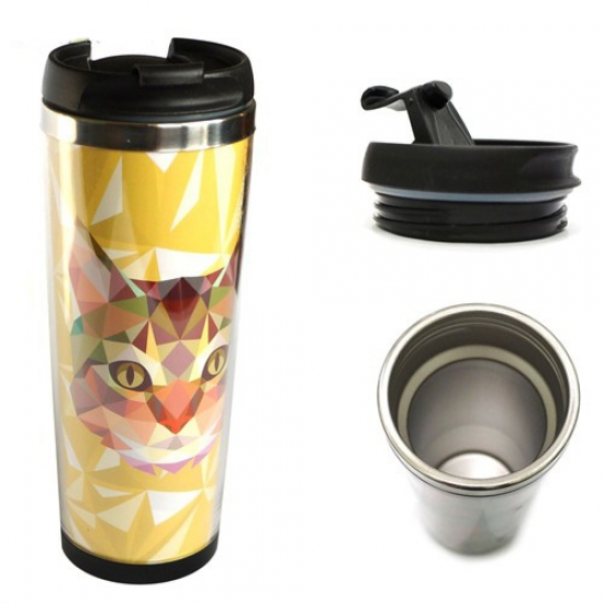Фото - Термокружка 3D Кот купить в киеве на подарок, цена, отзывы