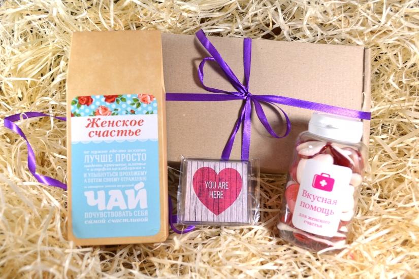 Фото - Подарочный набор Для женского счастья купить в киеве на подарок, цена, отзывы