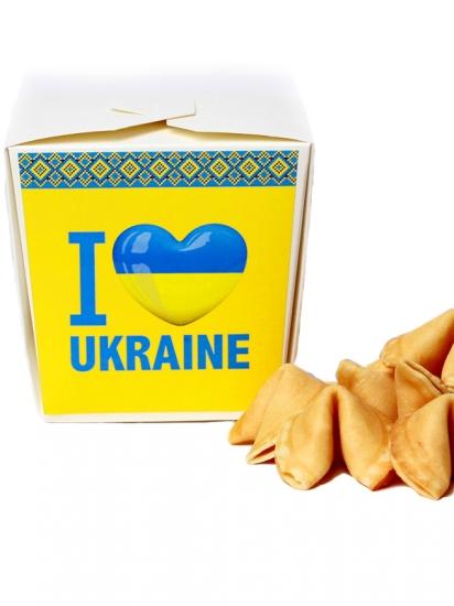 Фото - Печенье I Love Ukraine купить в киеве на подарок, цена, отзывы