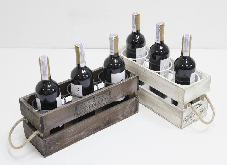 Фото - Подставка для вина ящик на 3 бутылки купить в киеве на подарок, цена, отзывы