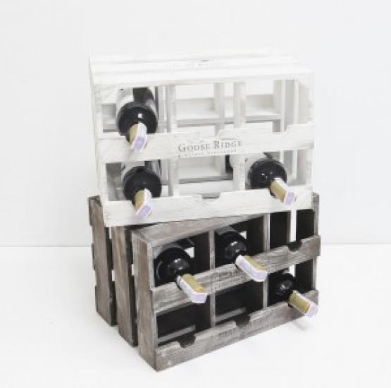Фото - Подставка для вина ящик на 6 бутылок модульный горизонтальный купить в киеве на подарок, цена, отзывы
