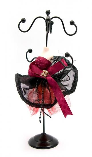 Фото - Подставка под бижутерию Манекен миранда с бантом купить в киеве на подарок, цена, отзывы
