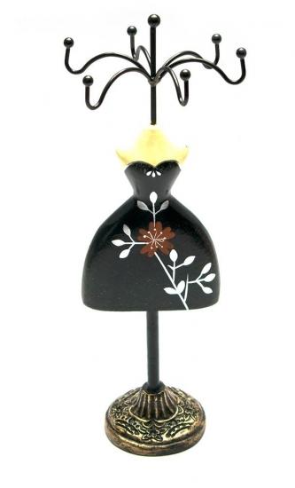 Фото - Подставка под бижутерию Манекен черная девица купить в киеве на подарок, цена, отзывы