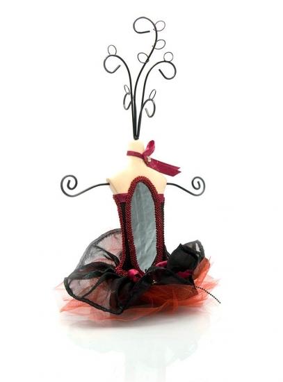 Фото - Подставка под бижутерию манекен с зеркальцем купить в киеве на подарок, цена, отзывы