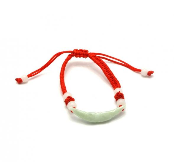 Фото - Браслет нефритовый дуга купить в киеве на подарок, цена, отзывы