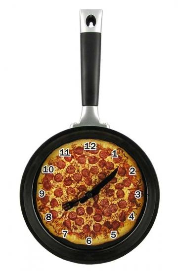 Фото - Сковородка - часы купить в киеве на подарок, цена, отзывы