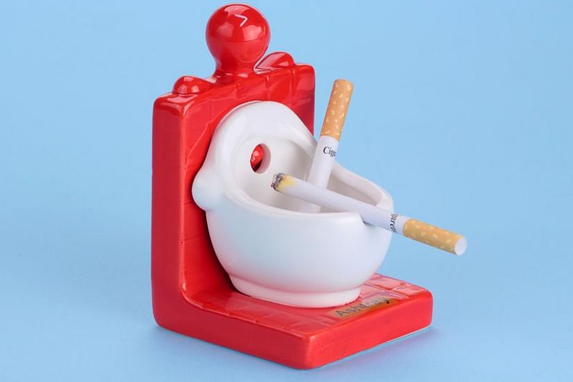 Фото - Писсуар - пепельница купить в киеве на подарок, цена, отзывы