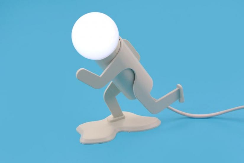 Фото - Бегун - светильник купить в киеве на подарок, цена, отзывы