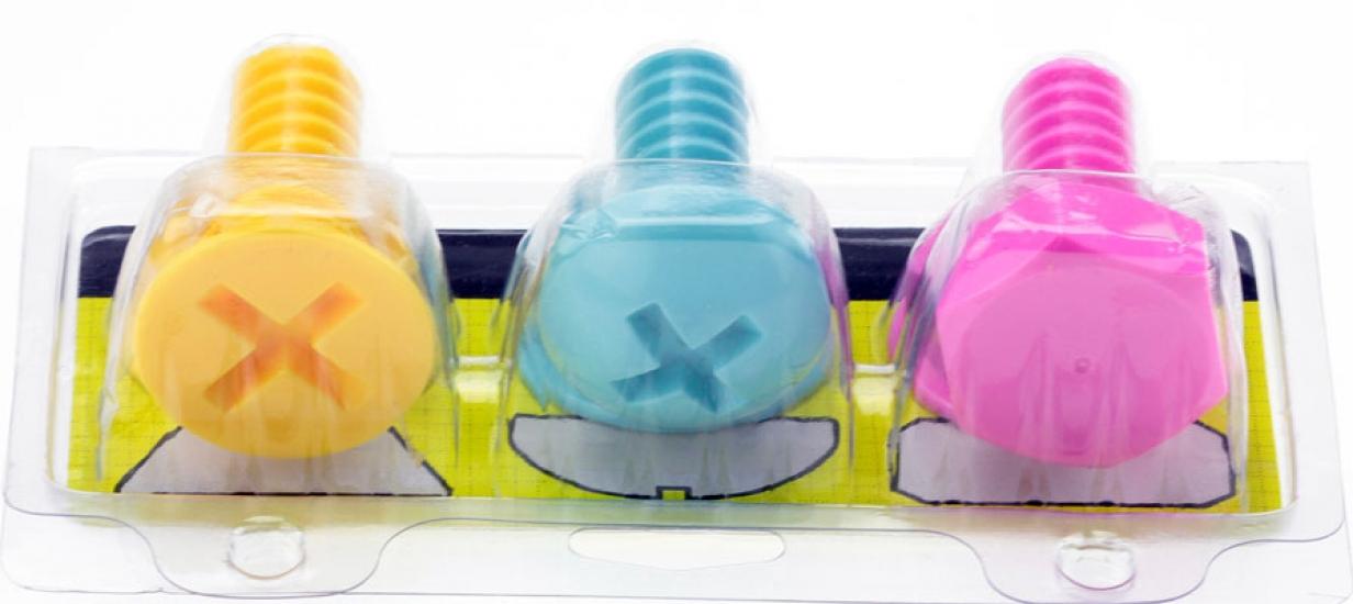 Фото - Болты - вешалки набор 3 шт купить в киеве на подарок, цена, отзывы