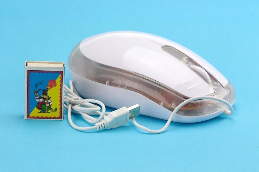 Фото - Компьютерная мышь - гигант с подсветкой купить в киеве на подарок, цена, отзывы