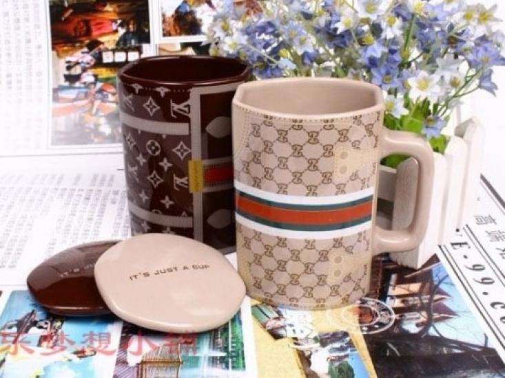 Фото - Керамическая чашка Louis Vuitton купить в киеве на подарок, цена, отзывы