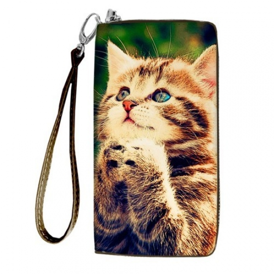 Фото - Кошелёк клатч тканевый кошак купить в киеве на подарок, цена, отзывы