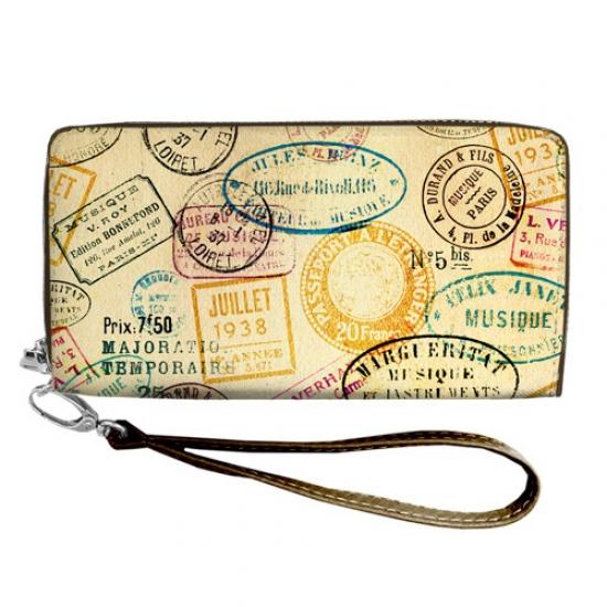 Фото - Кошелёк клатч тканевый старые времена купить в киеве на подарок, цена, отзывы