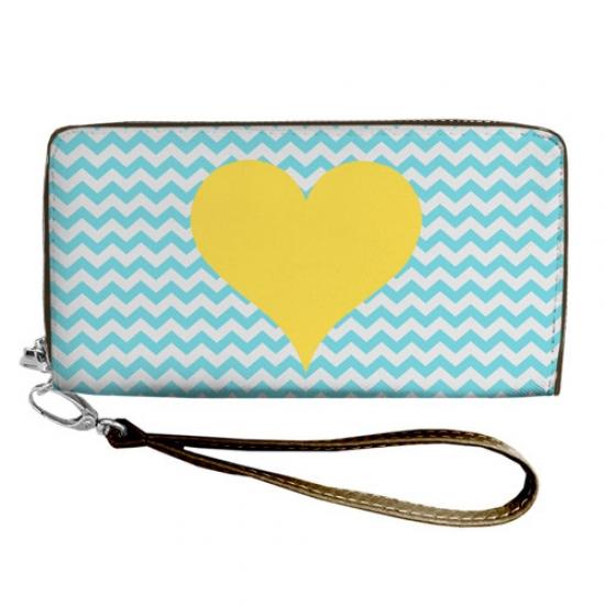 Фото - Кошелёк клатч тканевый в украина в сердце купить в киеве на подарок, цена, отзывы