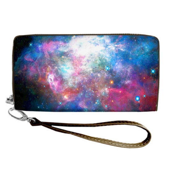 Фото - Кошелёк клатч тканевый космос купить в киеве на подарок, цена, отзывы