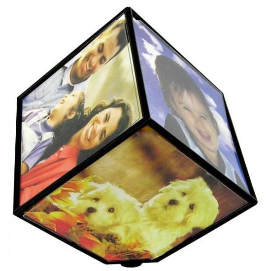 Фото - Фоторамка куб вращающийся купить в киеве на подарок, цена, отзывы