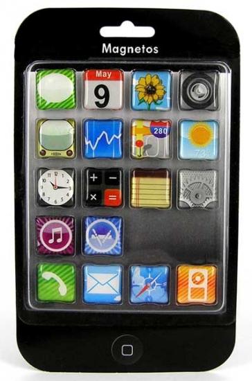 Фото - Iphone - набор магнитов 18 шт купить в киеве на подарок, цена, отзывы