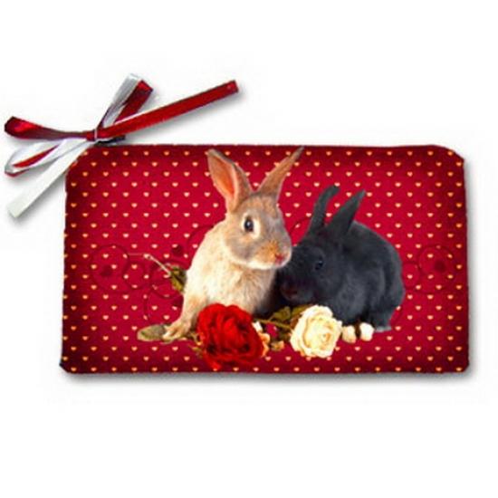 Фото - Косметичка-кошелек любимый кролик купить в киеве на подарок, цена, отзывы