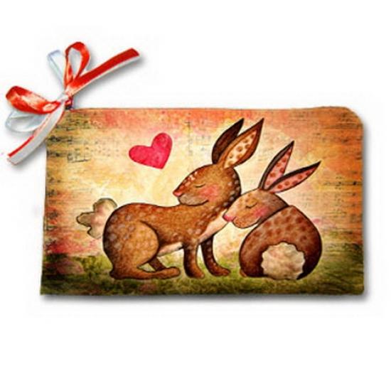 Фото - Косметичка-кошелек моя зайка купить в киеве на подарок, цена, отзывы