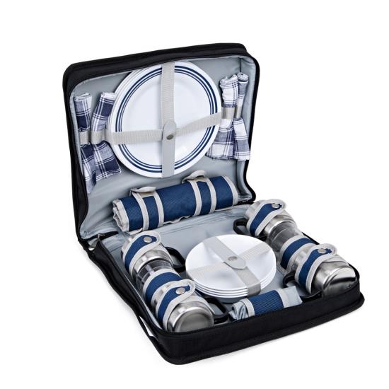 Фото - Сумка для пикника на 4-х персон купить в киеве на подарок, цена, отзывы
