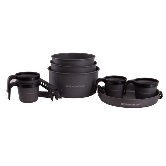Фото - Туристическая посуда на 3-4 персоны комфорт купить в киеве на подарок, цена, отзывы