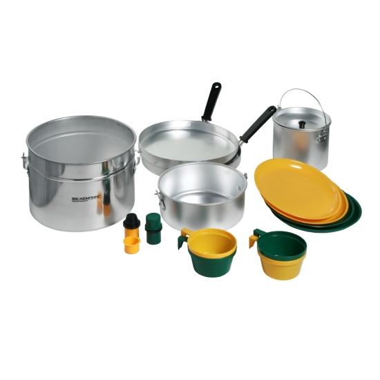 Фото - Туристическая посуда на 4-х персон купить в киеве на подарок, цена, отзывы