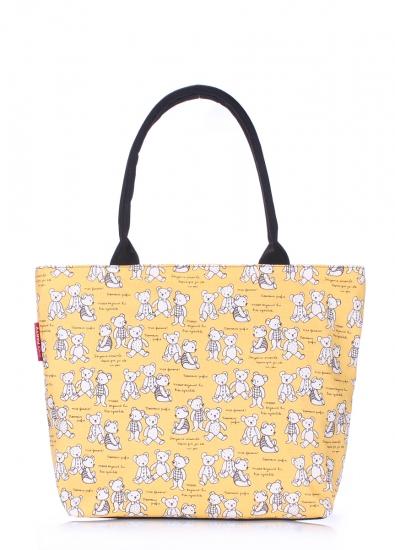 Фото - Текстильная сумка Yellow Bears купить в киеве на подарок, цена, отзывы