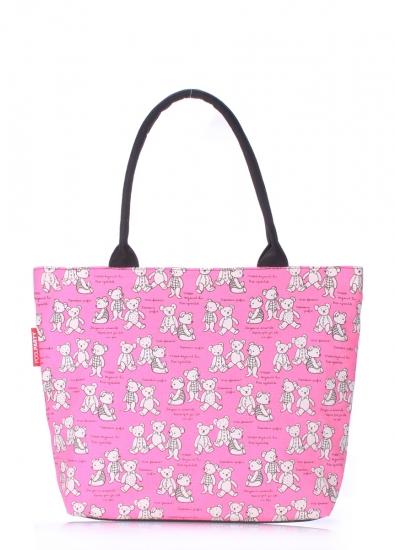 Фото - Текстильная сумка Pink Bears купить в киеве на подарок, цена, отзывы