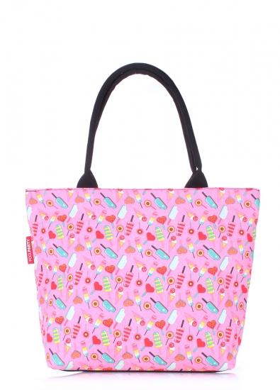 Фото - Текстильная сумка Pink Icecream купить в киеве на подарок, цена, отзывы