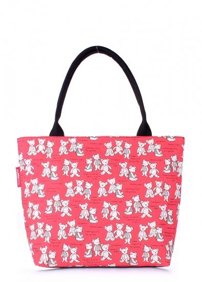 Фото - Текстильная сумка Red Bears купить в киеве на подарок, цена, отзывы