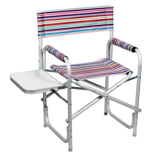 Фото - Раскладной Алюминиевый стул радуга купить в киеве на подарок, цена, отзывы