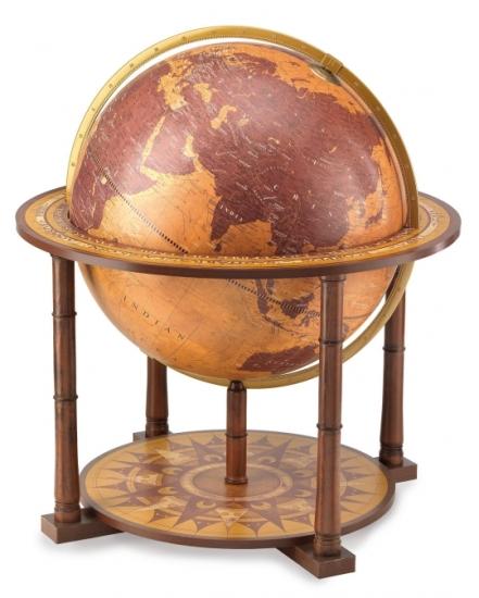 Фото - Глобус напольный коричневый мажор купить в киеве на подарок, цена, отзывы