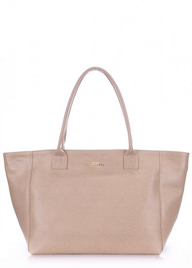 Фото - Женская кожаная сумка Benjamin beige купить в киеве на подарок, цена, отзывы