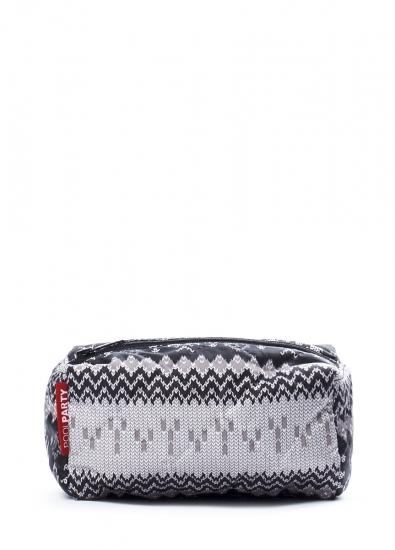 Фото - Косметичка Snowflakes grey купить в киеве на подарок, цена, отзывы
