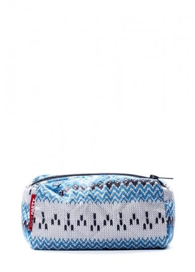 Фото - Косметичка Snowflakes blue купить в киеве на подарок, цена, отзывы