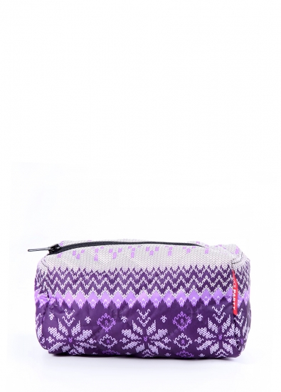 Фото - Косметичка Snowflakes violet купить в киеве на подарок, цена, отзывы