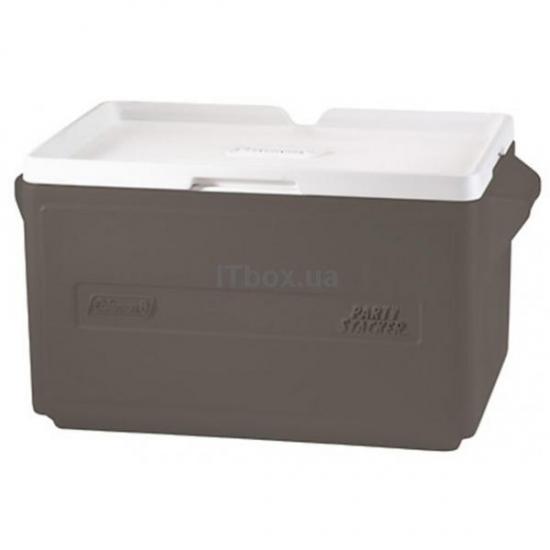 Фото - Термобокс COOLER 48 CAN STACKER - GRAY C004 купить в киеве на подарок, цена, отзывы