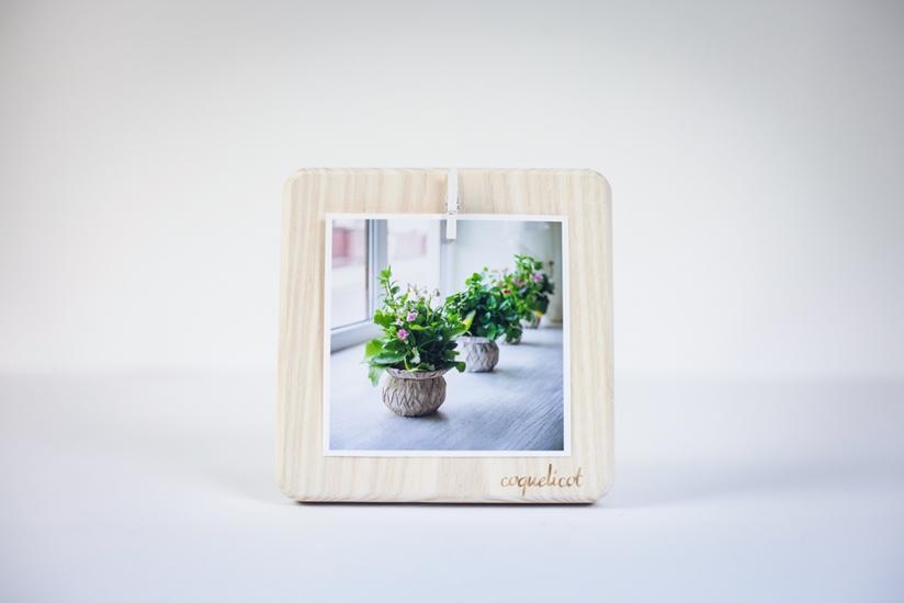 Фото - Фоторамка Coquelicot квадратная маленькая белая купить в киеве на подарок, цена, отзывы