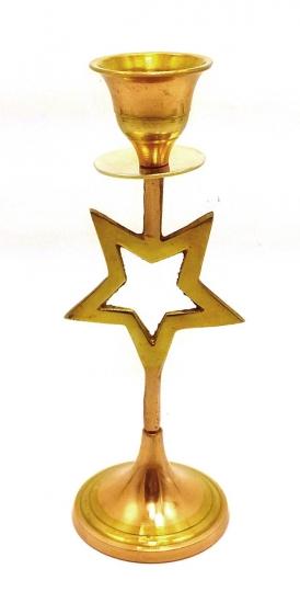 Фото - Подсвечник бронзовый звездочка купить в киеве на подарок, цена, отзывы