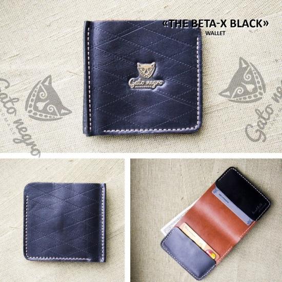 Фото - Кошелек Beta-X Black купить в киеве на подарок, цена, отзывы