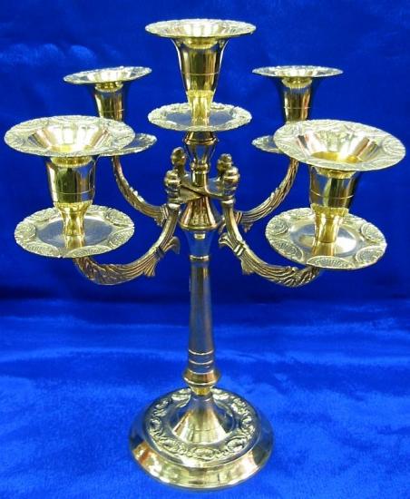 Фото - Подсвечник бронзовый на пять свечей большой купить в киеве на подарок, цена, отзывы
